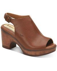 b.ø.c. Sheila Comfort Sandals - Brown