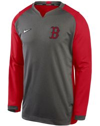 Nike Boston Red Sox Authentic Collection Thermal Crew Sweatshirt