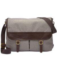Fossil - Buckner Messenger Bag - Lyst