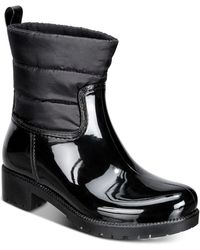 Charter Club Trudyy Rain Boots, Created For Macy's - Black