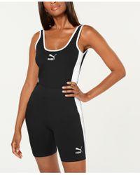 PUMA Classics T7 Scoop - Back Bodysuit - Black