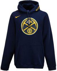 Lyst - Nike Men s Denver Broncos Ko Logo Essential Hoodie in Orange ... 3cef1d0a9