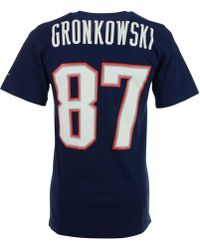 Nike - Men s Short-sleeve Rob Gronkowski New England Patriots Player T-shirt  - 39e5ee376