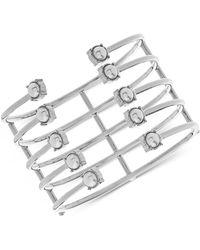 Steve Madden - Open Work Multi-layer Pearl Bracelet - Lyst