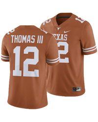 Nike Texas Longhorns Player Game Jersey Earl Thomas - Orange