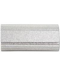 INC International Concepts Inc Marietta Elongated Glitter Clutch, Created For Macy's - Metallic