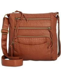 Style & Co. - Kenza Washed Small Crossbody - Lyst