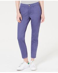 Maison Jules - Slim Ankle Pants, Created For Macy's - Lyst