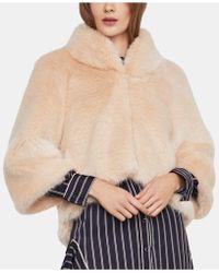 BCBGMAXAZRIA Nadine Faux Fur Jacket - Multicolor