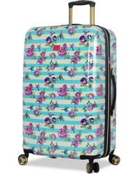 "Betsey Johnson - Hummingbird 26"" Hardside Expandable Spinner Suitcase - Lyst"