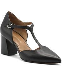Adrienne Vittadini T-strap Pumps - Black