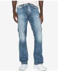 Silver Jeans Co. - Craig Easy Fit Bootcut Stretch Jeans - Lyst
