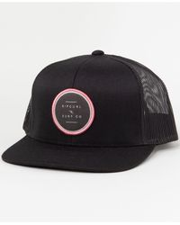 Rip Curl Go To Trucker Hat - Black