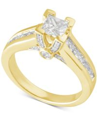 Macy's - Certified Diamond Engagement Ring In 14k Gold Or White Gold (1-1/2 Ct. T.w.) - Lyst