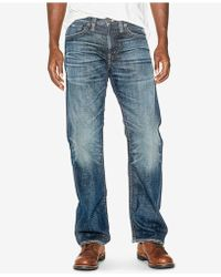 Silver Jeans Co. - Zac Relaxed Jeans - Lyst