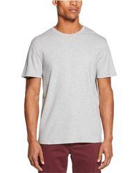DKNY Supima Crewneck T-shirt - Gray