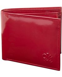 Token West End Leather Wallet - Red