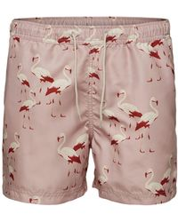 SELECTED Printed Swimshorts - Multicolor