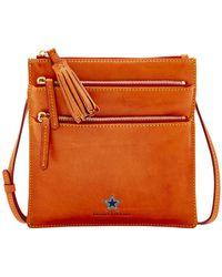 13c1a07f607 Dooney   Bourke - Dallas Cowboys Florentine Triple Zip Crossbody Bag - Lyst