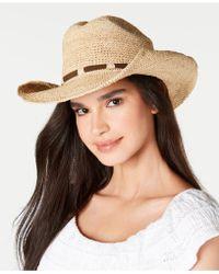 Frye - Raffia Dean Cowboy Hat - Lyst