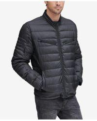 Marc New York Grymes Packable Racer Jacket - Black
