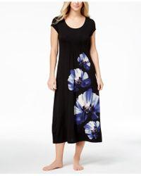 Alfani - Pansy-print Nightgown - Lyst