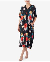 Ellen Tracy - Flower-print Long Caftan - Lyst