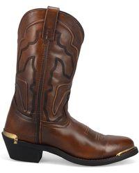 Laredo Atlas Cowboy Boots - Brown