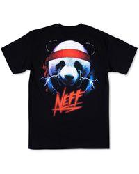 Neff Megaforce Logo Graphic T-shirt - Black
