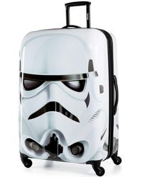 """American Tourister Storm Trooper 28"""" Hardside Spinner Suitcase - White"""