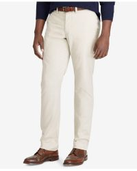Polo Ralph Lauren - Men's Big & Tall Classic-fit Stretch Chino Pants - Lyst
