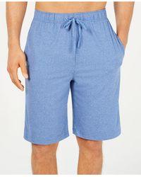 32 Degrees Comfort Stretch Pajama Shorts - Blue