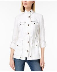 INC International Concepts - I.n.c. Linen Utility Jacket, Created For Macy's - Lyst