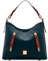 Dooney & Bourke - Patterson Cooper Pebble Leather Hobo - Lyst