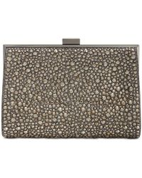 INC International Concepts Inc Loryy Embellished Sparkle Clutch, Created For Macy's - Metallic