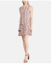 American Living - Tiered Floral-print Dress - Lyst