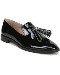 Franco Sarto Hadden Patent Loafers - Black