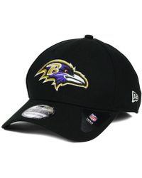 Lyst - Ktz Baltimore Ravens Striped Cuff Knit Hat in Gray for Men 70d61cb4b
