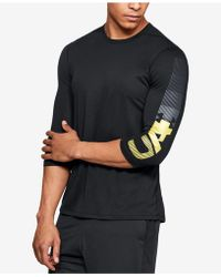 Under Armour - Podium 3/4-sleeve T-shirt, Created For Macy's - Lyst