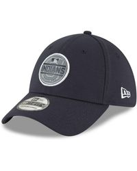 promo code a89d1 d8b88 KTZ Cleveland Indians Fashion 39thirty Cap in Blue for Men - Lyst