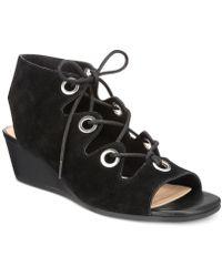 Bella Vita | Ingrid Wedge Sandals | Lyst