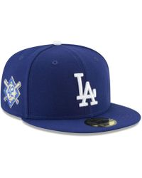 promo code e5803 41346 KTZ Milwaukee Brewers Jackie Robinson Day Low Profile 59fifty Fitted Cap in  Blue for Men - Lyst
