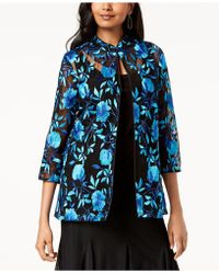 Alex Evenings - Petite Embroidered Jacket & Top - Lyst
