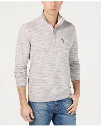 Tommy Bahama - Sunrise Sands Stripe Half-zip Sweatshirt - Lyst