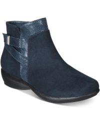 Karen Scott Vanni Ankle Booties, Created For Macy's - Blue