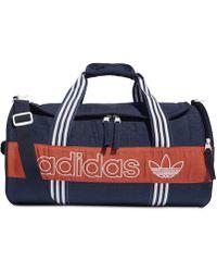 adidas - Originals Logo Duffel Bag - Lyst