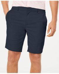 "Alfani - Alfatech Stretch Waistband 9"" Shorts, Created For Macy's - Lyst"
