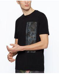 BOSS by HUGO BOSS - Stretch-cotton T-shirt - Lyst