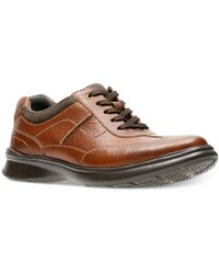 Clarks - Cotrell Style Leather Oxfords - Lyst