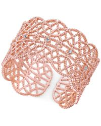INC International Concepts - Crystal-studded Filigree Ring - Lyst
